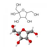 molecole del fruttosio